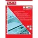 Etichete autoadezive Tanex 1/A4 (210x297mm) - colturi patrate