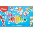 Carioca Maped Color'Peps My First Jumbo 18/set