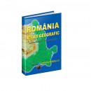Atlas Geografic ROMANIA, A4, coperti plastifiate