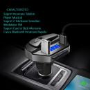 Car Kit MP3 Player Dual USB + Casca Bluetooth 4.2 + EDR Handsfree V6