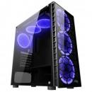 Carcasa nJoy Vanguard Gaming + 6 coolere Blue