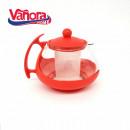 Ceainic cu infuzor, Vanora, 750 ml, sticla/plastic