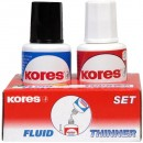 Fluid corector solvent 2 x 20ml Kores