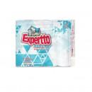 Hartie igienica 2 straturi, alba Expertto 24 role/set