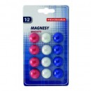 MAGNETI WHITEBOARD 20MM SET 12 BUC MEMOBOARDS