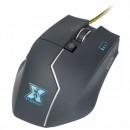 Mouse Gaming Serioux Egon X, 8200 DPI, USB, iluminare LED, Greutate ajustatbila