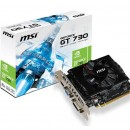 Placa video MSI NVIDIA N730-2GD3V2, GT730, PCI-E, 2048MB DDR3, 128bit