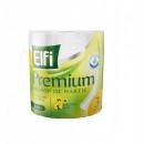 Prosop Hartie bucatarie Elfi Premium super absorbant, 3 straturi, 300 foi