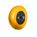 Roata pentru roaba poliuretan fara camera, 16x4-8 inch, Tolsen Industrial