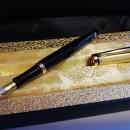 Stilou Premium Vereva cu penita din iridium auriu, in etui Lux