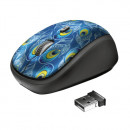 TRUST YVI WIRELESS MOUSE -PEACOCK