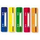 Alonge A5 Plastic pentru indosariat, DACO 25buc/set