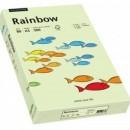 Carton color A4 Rainbow 160g/mp 250coli/top culori pale
