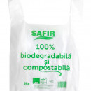 Pungi cu maner, 8Kg, Biodegradabile & Compostabile 50buc/set