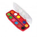 Acuarele 12 culori Fatih