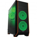 Carcasa Gaming PC Serioux KENAN, 5 ventilatoare LED, Middle Tower, ATX
