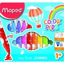 Carioca Maped Color'Peps My First Jumbo 12/set