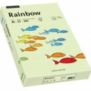 Carton color A4 Rainbow 160g/mp 250coli/top culori pale
