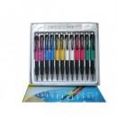 Creion mecanic 0.7mm, varf retractabil, grip, accesorii metalice Aihao 911