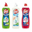 Detergent vase Pur 900ml - Aloe Vera, Apple, Cherry, Lemon