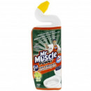 Dezinfectant vas toaleta Wc  Mr Muscle Power Gel 5 in 1, 750 ml