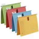 Dosar suspendabil cu sina, carton 230g/mp, bagheta metalica, ELBA diverse culori