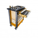 Dulap mobil cu scule Profesionale pentru Service Auto, 179 piese, Tolsen Industrial