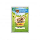Hrana umeda pentru caini, Friskies Junior, Pui & Morcovi, plic 100g