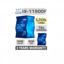 Procesor Intel® Core™ i9-11900F Rocket Lake, 2.50 GHz, 16MB, fara grafica integrata, Socket 1200 Box