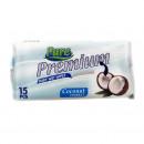 Servetele umede Pure Premium de buzunar 15 bucati
