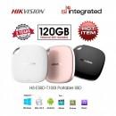 SSD portabil extern Hikvision T100I, 120 Gb, USB 3.1 Viteza 450 MB/s