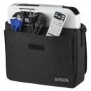 Videoproiector Epson EB-W04, WXGA, 3000 lumeni, Alb HDMI + CADOU Ecran Proiectie Tripod 155x155