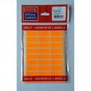 Etichete autoadezive color, 12 x 30 mm, 300 buc/set, Tanex,  fluorescent