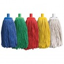 Rezerva Mop din Bumbac 250g, Cod de culori (Galben, Rosu, Verde, Albastru)