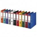 Biblioraft A4, plastifiat PP/PP, margine metalica, 75 mm, ESSELTE No. 1 Power