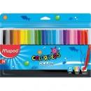 Carioci Maped Color'Peps Ocean, 24 culori/set