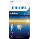 Baterie Philips alkaline  LR44, AG13,  1 buc
