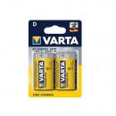 Baterii Zinc-Carbon R20, D, Varta SuperLife, 2buc/set