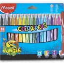 Carioca Maped  Jungle  18/set Lavabile