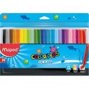 Carioci Maped Color'Peps Ocean, 24 culori/set