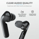 Casti cu microfon In-ear Trust Nika Touch XP Compact Bluetooth Earphones