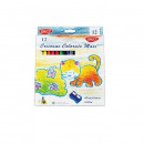 Creion color 12 culori Maxi Daco