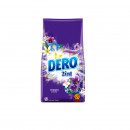Detergent automat pudra Dero 2 in 1 Lavanda & Iasomie , 100 spalari, 10 kg