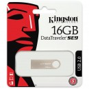 Memorie USB Kingston DataTraveler SE9 Champagne 16GB, USB 2.0, metalic