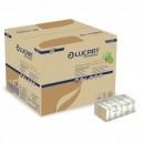 Servetele de mase din hartie ecologica Lucart Professional, pliate interfold, pentru dispenser