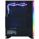 Carcasa Gaming Middle Tower, ATX cu 4 coolere, SPACER SP-GC-BRIGHT