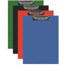 Clipboard Dublu A4, plastifiat PVC, Q-Connect