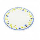 Farfurie adanca Opal 23 cm portelan decor Flori
