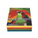 Hartie colorata A4, 500 coli 10 culori DACO 80g/mp