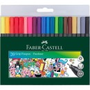 Liner 0.4mm grip 20/set Faber-Castell